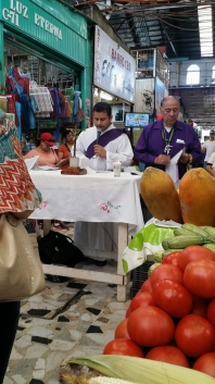 Performing Mass in the market.