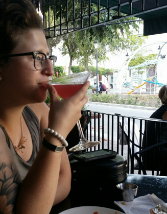 Her first LEGAL drink