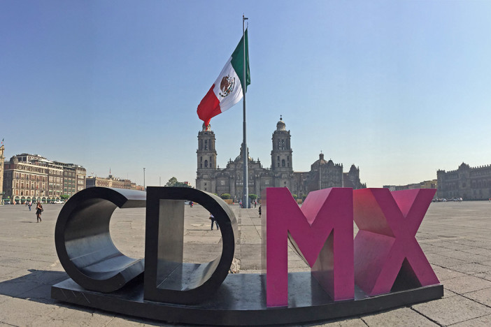 Arrived in MexicoCity!