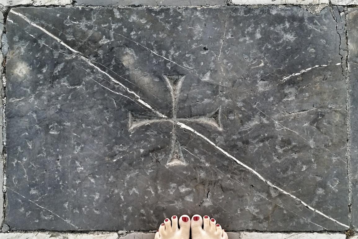 Foot Touring inPisa